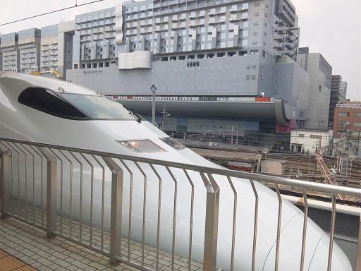 120728 京教組講演後の新幹線 (2)