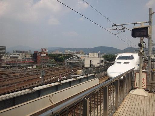 120728 京教組講演後の新幹線 (1)