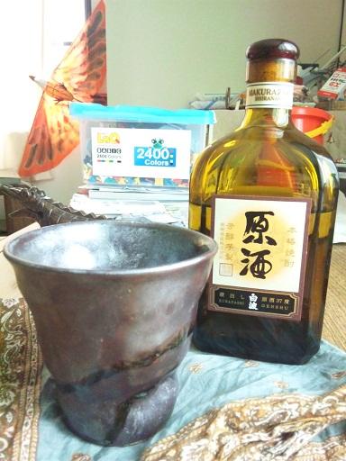 121030 焼酎・3年ピザパ (2)