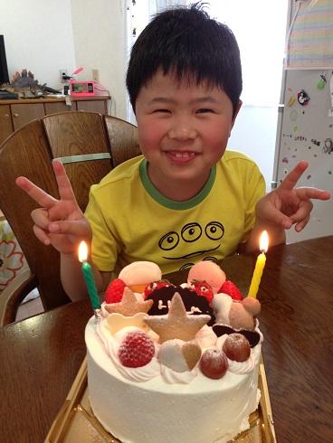 140328 ユウシン誕生ケーキ (6)