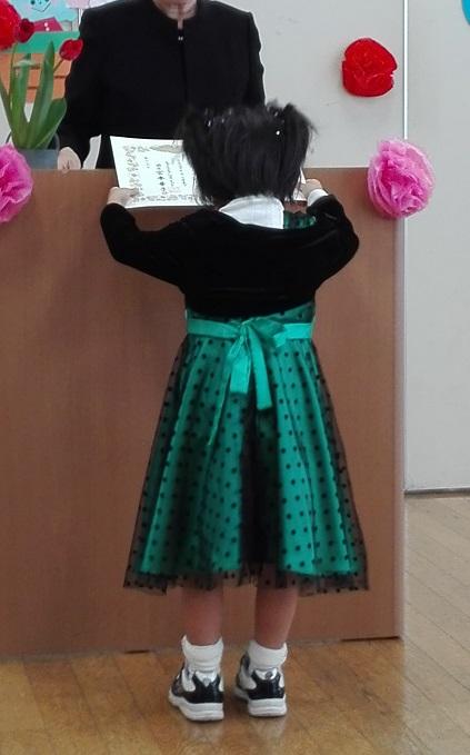 180325 妹新参・卒園式 (2)