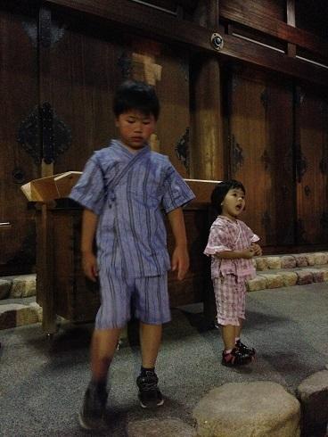 150727 プールと広田神社お祭り (1)