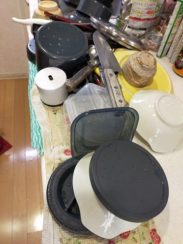 210414 皿洗い