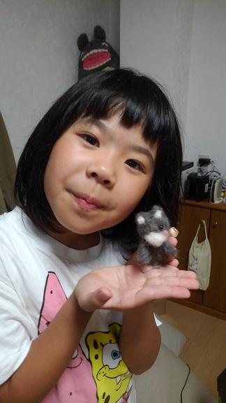 200808 芦屋講演・羊毛フェルト (9)